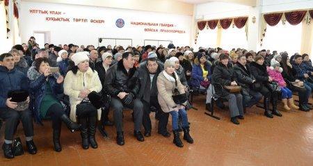 В Актау в Национальной гвардии новобранцы приняли присягу