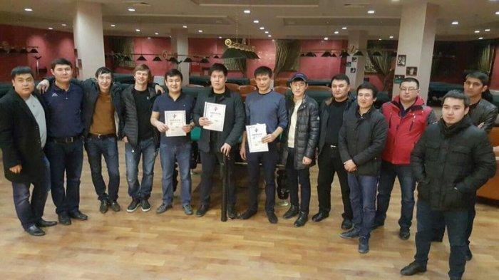 В Актау прошел турнир по бильярду «Московская пирамида»