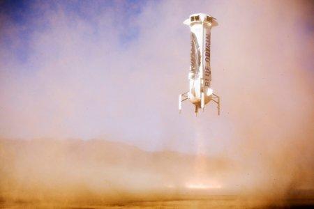 В Сети появилось видео полета многоразового космического корабля New Shepard