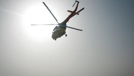 На юге Казахстана разбился вертолет
