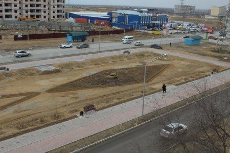 На строительство новой велодорожки между 16 и 27 микрорайонами Актау потратили почти 45 миллионов тенге