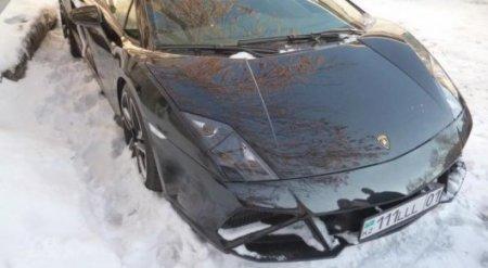 Lamborghini Кайрата Жамалиева выставили на торги в Астане