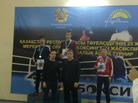 В Жанаозене прошел открытый городской турнир по кикбоксингу