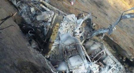 Упавший в Жамбылской области вертолет принадлежит полиции