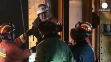 Китайские шахтеры больше месяца под землей ждали помощи спасателей