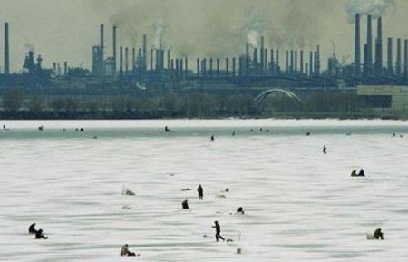 Грязная река Урал взволновала Леонардо Ди Каприо