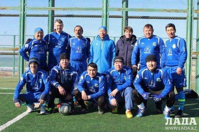 «Каспий» стал досрочным победителем Ветеранской лиги по футболу в Актау