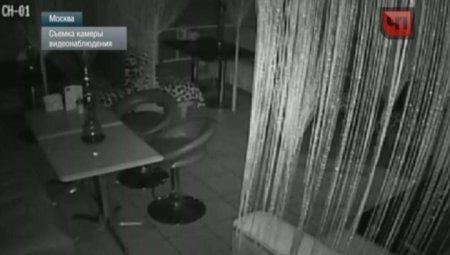 Привидение устроило беспорядок в московском кафе
