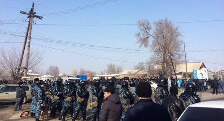 Оперативный штаб создан в селе Бурыл после волнений среди сельчан