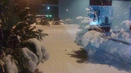 Наш аэропорт в снегу