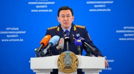 Глава МВД прокомментировал ситуацию в Жамбылской области