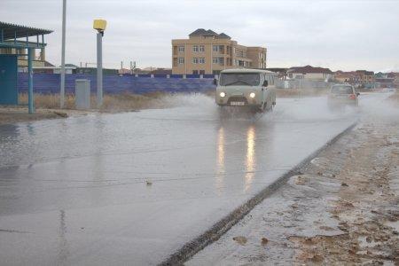 В поселке Приморский последождяпрорвалоканал водоочистных сооружений