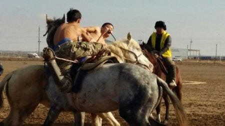 В Актау стартовал областной чемпионат по конным видам спорта