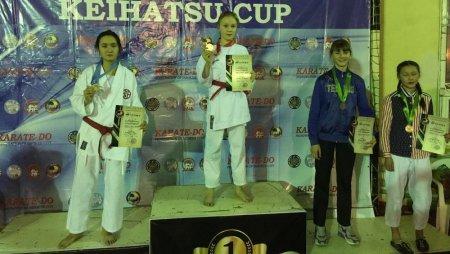 Мангистауские спортсмены вернулись с 10 медалями с турнира по карате-до из Бишкека