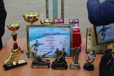 В Актау награждены победители завершившегося турнира Ветеранской лиги