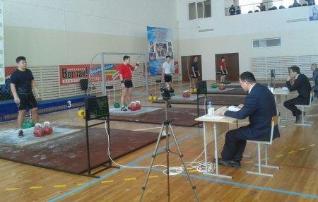 Мангистауские спортсмены вернулись с чемпионата Казахстана по гиревому спорту