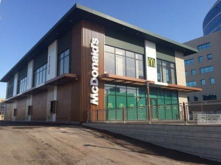 Названа дата открытия первого ресторана McDonald's в Казахстане
