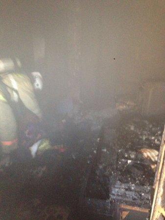 В Актау из-за травли клопов произошел пожар в квартире