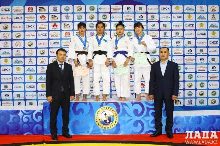 Спортсмены из Актау завоевали три медали на чемпионате Казахстана по дзюдо
