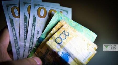 Курс нацвалюты к доллару составил 348,40 тенге