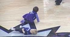 """Видео с малышом, заснувшим на """"забеге"""", стало хитом соцсетей"""