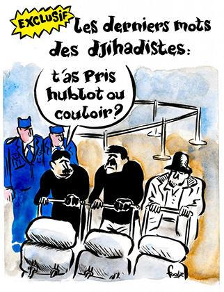 Charlie Hebdo нарисовал карикатуру на брюссельские теракты