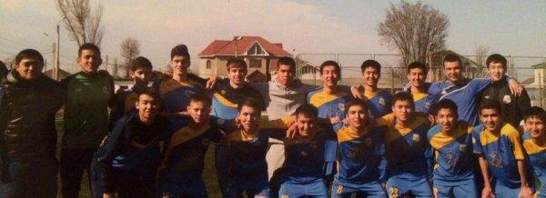 «Каспий» стал первым на чемпионате «Арман» по футболу