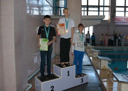 Пловец из Актау Андрей Агуцков завоевал четыре медали на чемпионате Казахстана