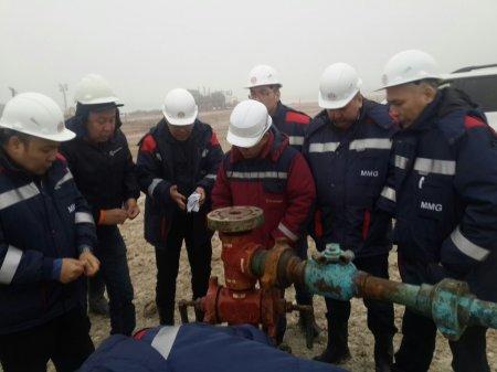 Комиссия установила причины аварии на месторождении «Каламкас»