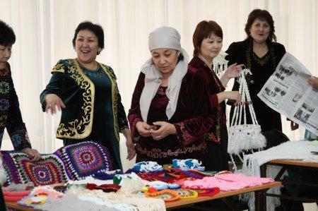 Ярмарка работ одиноких пенсионеров и детей с ограниченными возможностями прошла в Актау