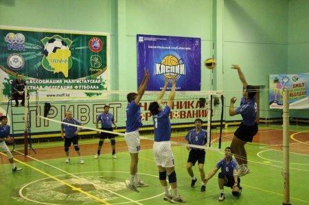 Потомки батыра Косай Ата организовали турнир по волейболу в Актау