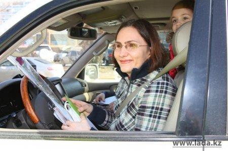 Дорожно-патрульная полиция: Актауские женщины-водители редко превышают скорость