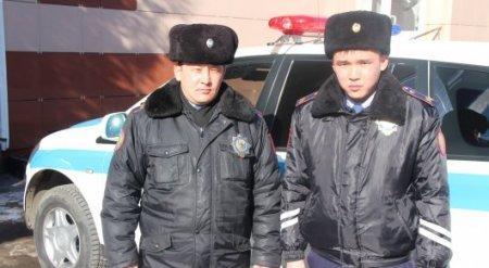 Павлодарские полицейские протаранили авто угонщика, чтобы его остановить