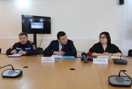 Шолпан Ильмуханбетова: Из резерва областного акимата выделят средства на строительство дренажной системы в Мунайлинском районе