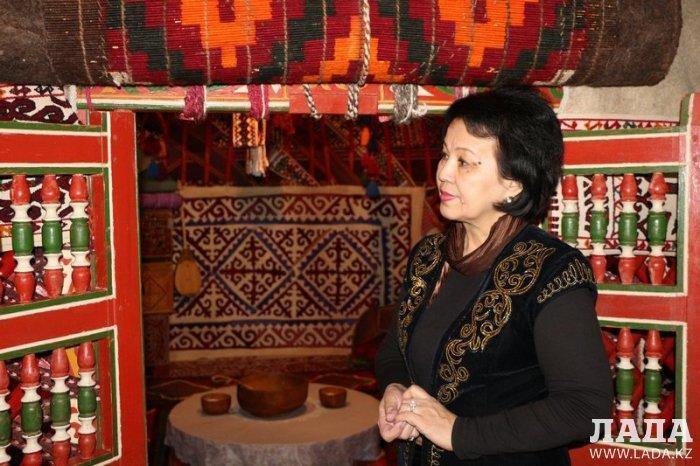 Тамара Жумалиева: Юрту мангистауские казахи сохранили из уважения к традициям