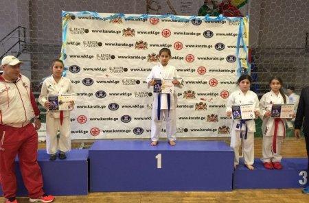 Актауские каратисты вернулись с 10 медалями с турнира «Кубок Кавказа»