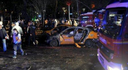 Взрыв в Анкаре был совершен двумя террористами-смертниками
