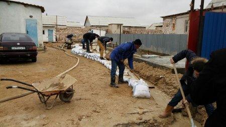 Нурлан Тажибаев: До конца дня мы завершим работы по откачке воды в Мунайлинском районе