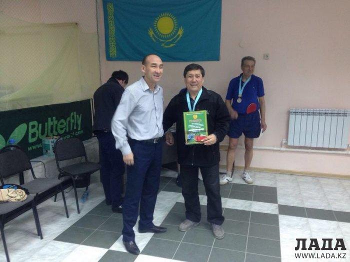 В Актау прошел чемпионат города по настольному теннису