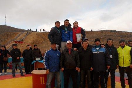 В Мангистау прошел открытый областной турнир по казакша курес