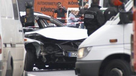 Автомобиль взорвался в Берлине