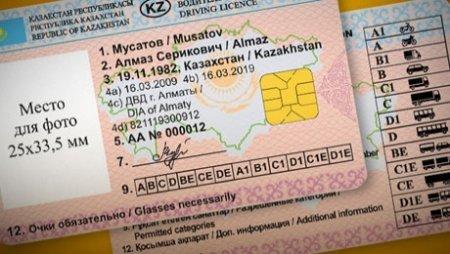 В каких странах действительны водительские права РК