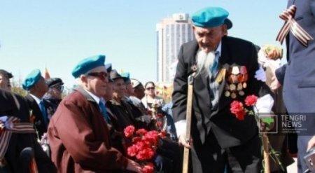 Ветеранам в Астане к 9 Мая вновь выплатят по миллиону тенге