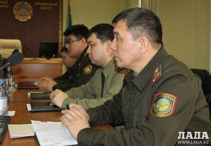 Тему противодействия коррупции обсудили в ДЧС Мангистауской области