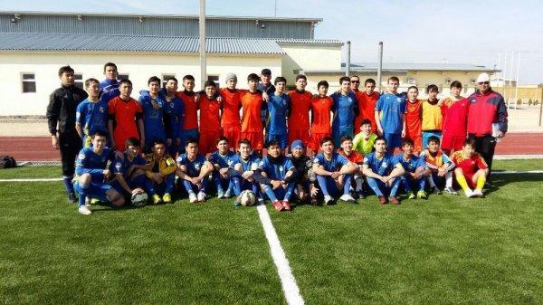 «Каспий» вернулся с товарищеского матча из Курыка с победой