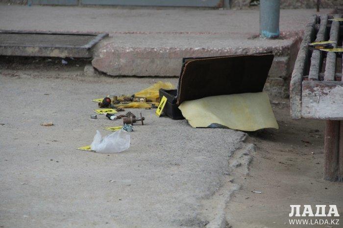 ДВД Мангистауской области: В оставленном возле одного из подъездов 24 дома 8 микрорайона Актау чемодане бомбу не обнаружили