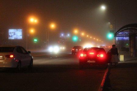 Туман в Актау