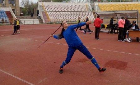 Актауские легкоатлеты завоевали шесть медалей на чемпионате Казахстана по метанию копья и диска