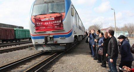 Поезд на Украину по Шелковому пути не идет в обратный путь: нет клиентов