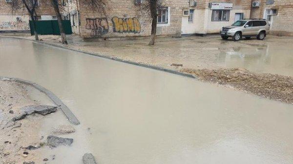 Последствия дождей в Жанаозене